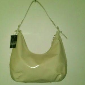XOXO cream purse